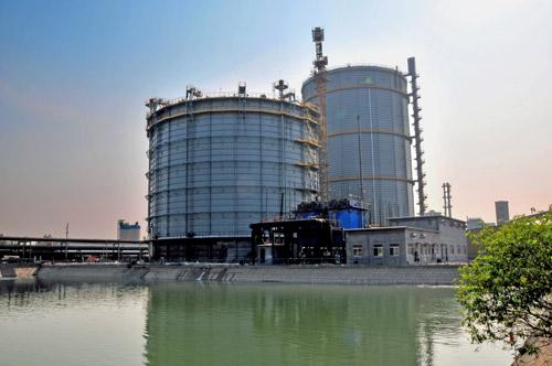 高炉煤气柜结构